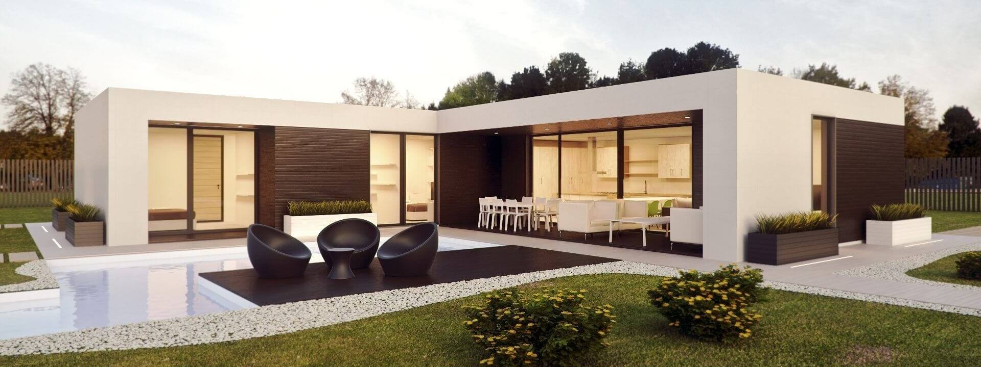 Smart homes container